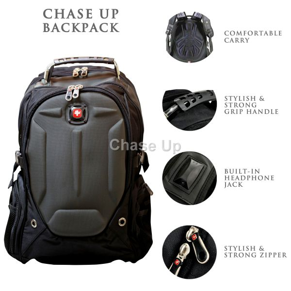Gents Backpack 6611 TI-020 Imp (Gray)